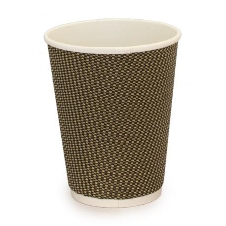 Vaso compostable doble pared 240 ml pack 15u