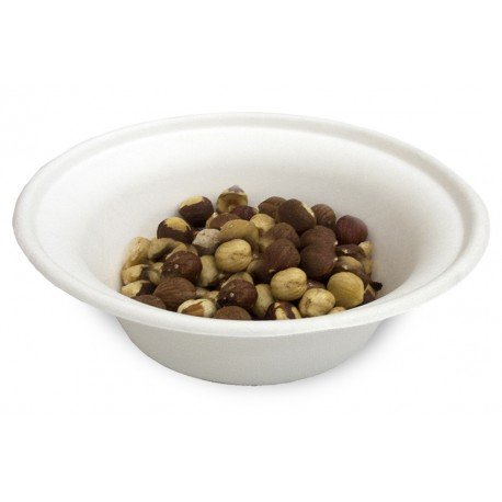 Bowl compostable 340ml pack 50u