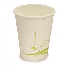 Vaso compostable 240 ml pack 15u
