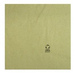 Servilletas papel reciclado 2 capas 33x33cm