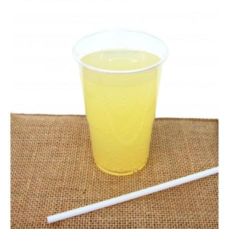 Vaso compostable PLA 250-335ml pack 15u