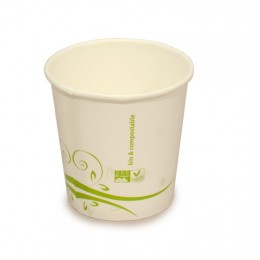 Vaso compostable 120 ml pack 100u