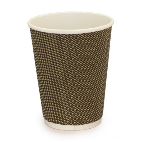 Vaso compostable doble pared 240 ml pack 15u