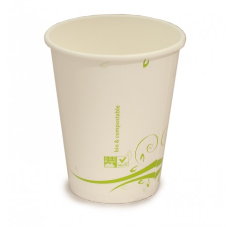 Vaso compostable 240 ml 15u